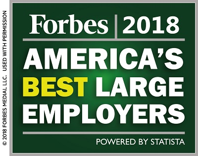 Forbes Best Large Employer Logo